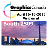 GraphicsCanada tradeshow web-to-print